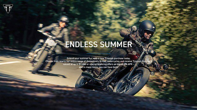 Triumph Endless Summer Event